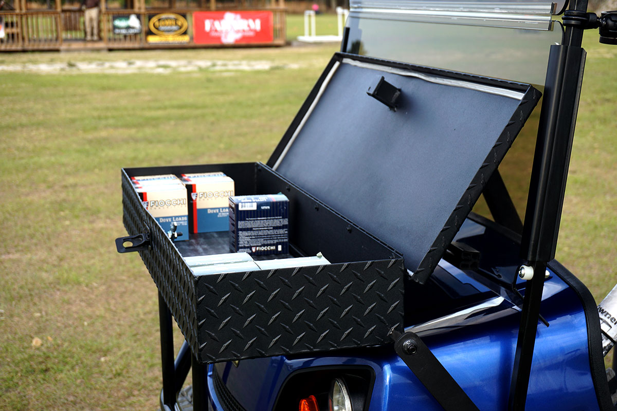 Clay Pro Custom Golf Carts For Clay Shooting