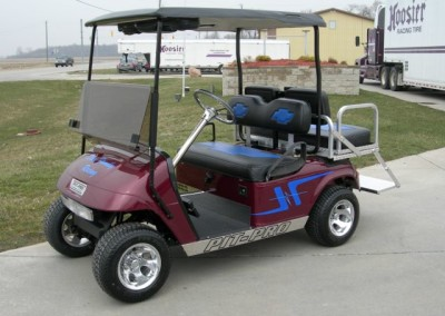 Candy Red Pit-Pro EZGO TXT