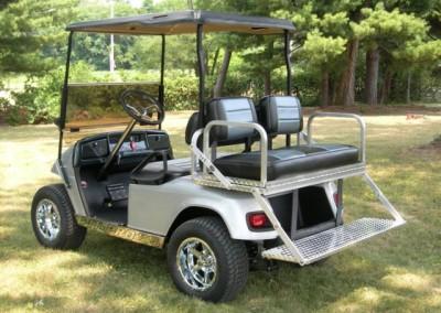 HEAVY DUTY Stainless Steel Rear flip seat