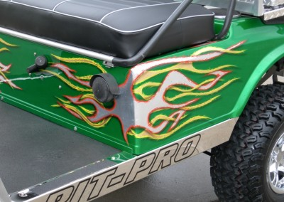 Custom Paint Golf Cart