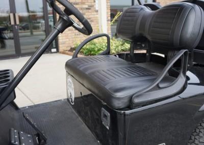 Custom Seats and Nerf Bar