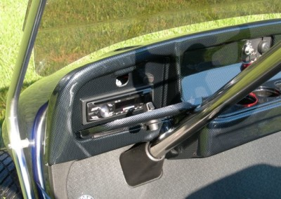 Radio and Carbon Fiber Dash