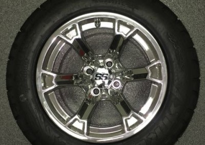 14″ Mirror custom wheels – Raven