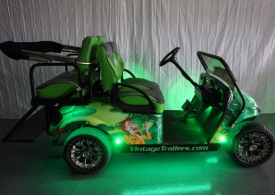 Green Pit-Pro with underbody lights