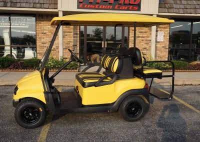 Yellow Elite-Pro Club-Car