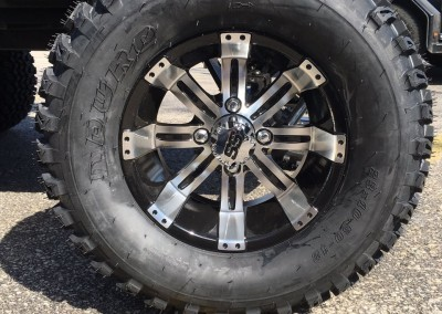 12″ Semi Agressive Tires w/Tempest Wheels