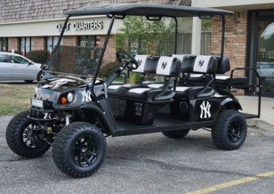 Custom Golf Cart Inspiration Gallery on beach buggy cart, grey fifth wheel, car cart,